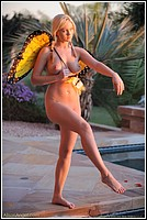 Alison Angel As A Butterfly